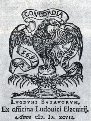 Издательская марка Л. Эльзевира